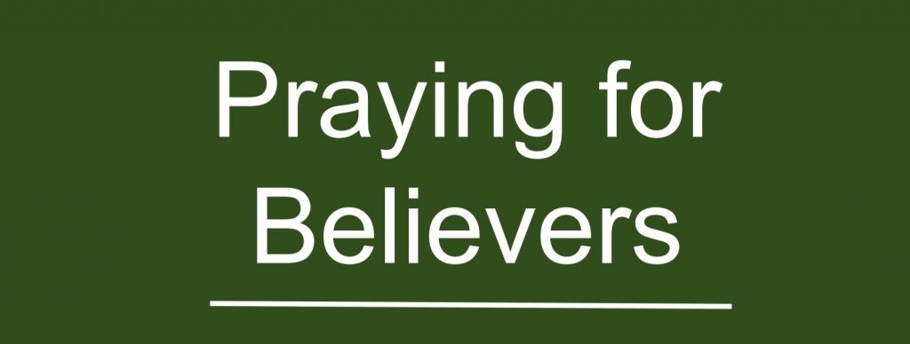Praying for Believers